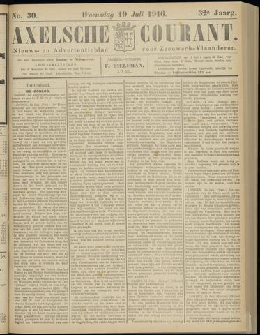 Axelsche Courant 1916-07-19
