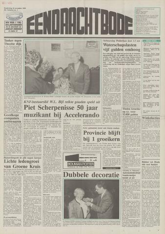 Eendrachtbode (1945-heden)/Mededeelingenblad voor het eiland Tholen (1944/45) 1989-11-16