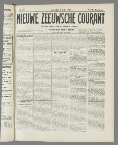 Nieuwe Zeeuwsche Courant 1908-07-04
