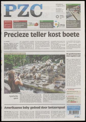 Provinciale Zeeuwse Courant 2013-08-01