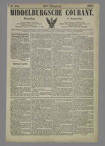Middelburgsche Courant 1887-08-08