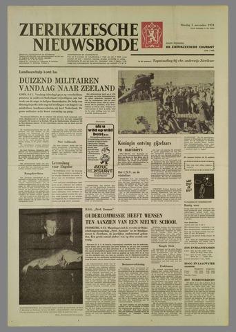 Zierikzeesche Nieuwsbode 1974-11-05