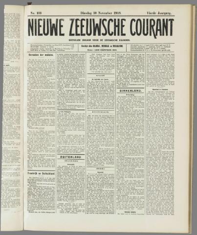 Nieuwe Zeeuwsche Courant 1908-11-10