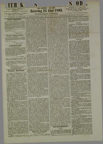 Zierikzeesche Nieuwsbode 1893-06-24