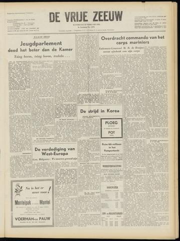 de Vrije Zeeuw 1953-02-28