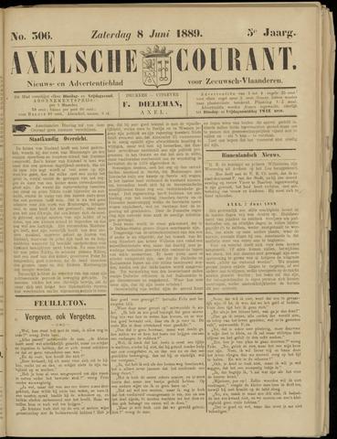 Axelsche Courant 1889-06-08