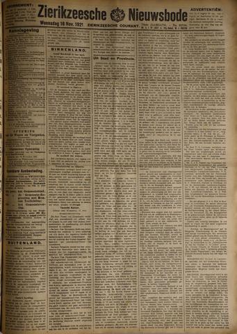 Zierikzeesche Nieuwsbode 1921-11-16