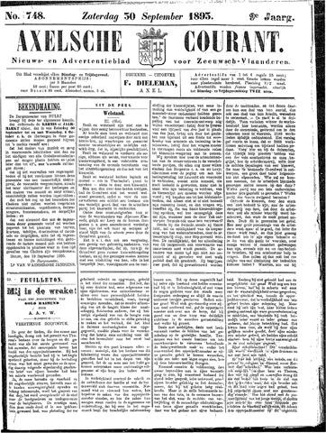 Axelsche Courant 1893-09-30