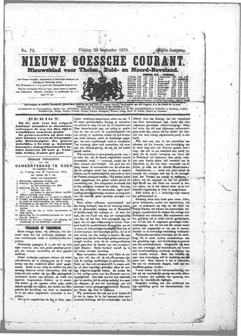 Nieuwe Goessche Courant 1870-09-23