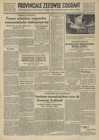 Provinciale Zeeuwse Courant 1952-06-05