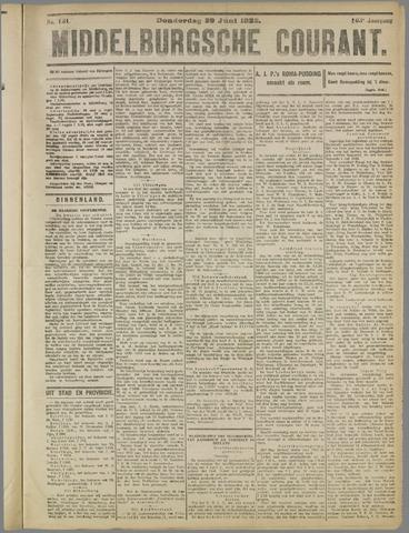 Middelburgsche Courant 1922-06-29