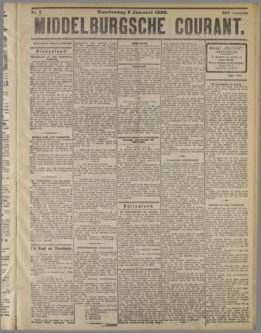 Middelburgsche Courant 1922-01-05