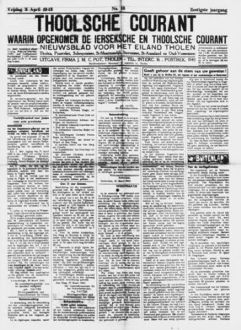 Ierseksche en Thoolsche Courant 1943-04-02