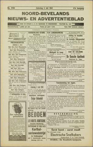 Noord-Bevelands Nieuws- en advertentieblad 1941-07-05