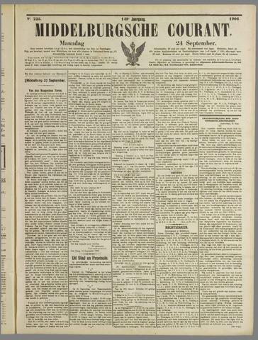 Middelburgsche Courant 1906-09-24