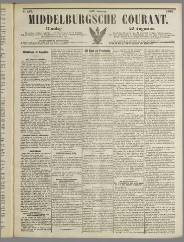 Middelburgsche Courant 1905-08-22