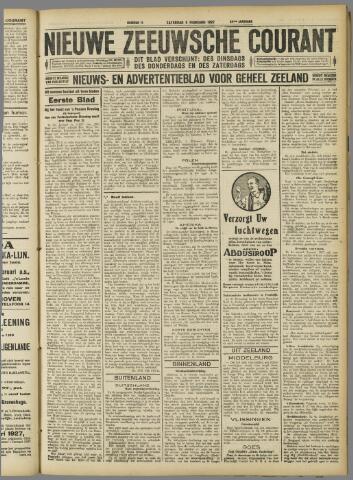 Nieuwe Zeeuwsche Courant 1927-02-05