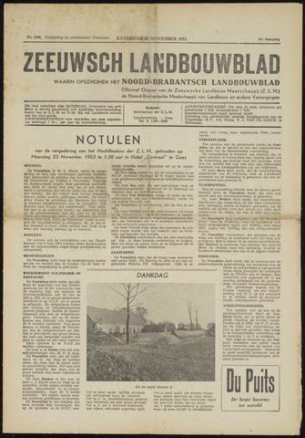 Zeeuwsch landbouwblad ... ZLM land- en tuinbouwblad 1953-11-28