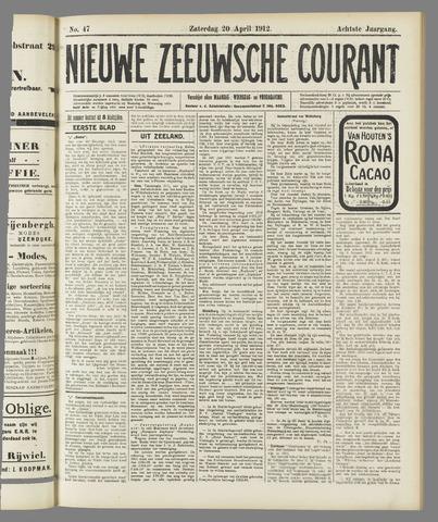 Nieuwe Zeeuwsche Courant 1912-04-20