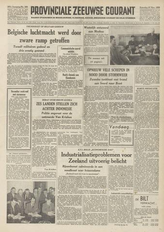 Provinciale Zeeuwse Courant 1954-11-27