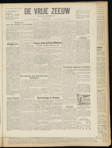 de Vrije Zeeuw 1949-11-16