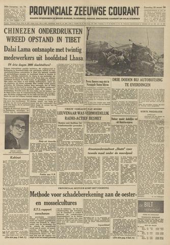 Provinciale Zeeuwse Courant 1959-03-28
