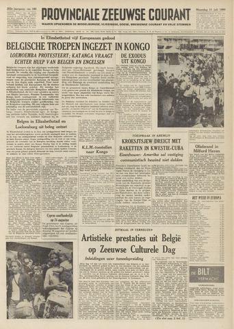 Provinciale Zeeuwse Courant 1960-07-11