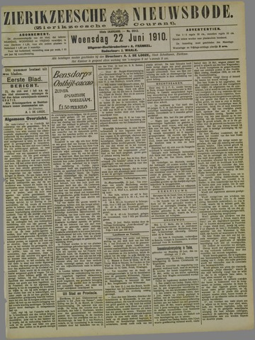 Zierikzeesche Nieuwsbode 1910-06-22