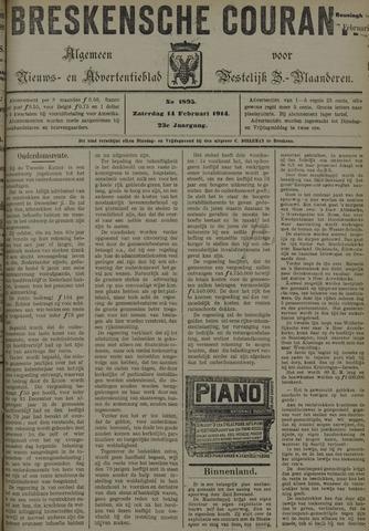 Breskensche Courant 1914-02-14