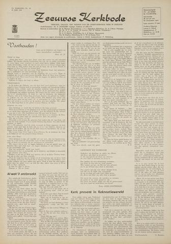 Zeeuwsche kerkbode, weekblad gewijd aan de belangen der gereformeerde kerken/ Zeeuwsch kerkblad 1969-06-19
