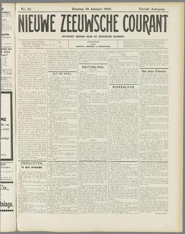 Nieuwe Zeeuwsche Courant 1906-01-30