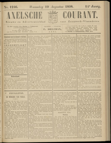 Axelsche Courant 1898-08-10