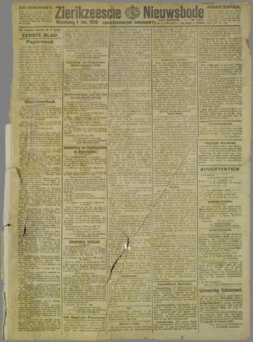 Zierikzeesche Nieuwsbode 1919