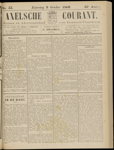 Axelsche Courant 1909-10-09