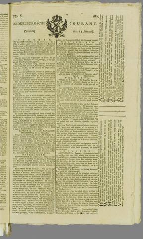 Middelburgsche Courant 1809-01-14
