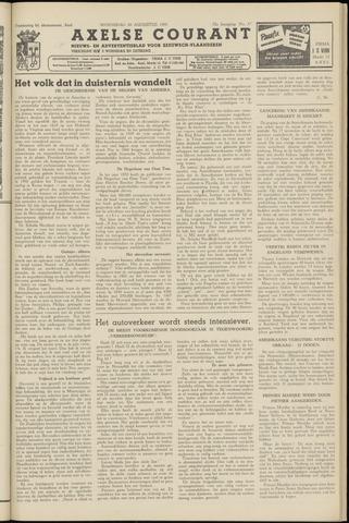 Axelsche Courant 1958-08-20