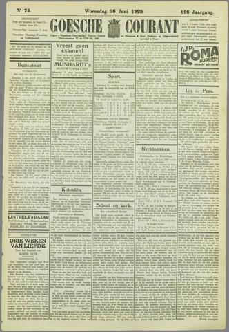 Goessche Courant 1929-06-26