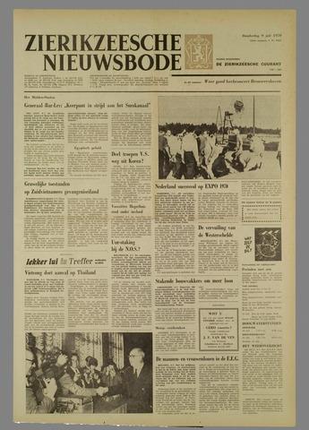 Zierikzeesche Nieuwsbode 1970-07-09