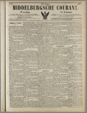 Middelburgsche Courant 1903-02-18