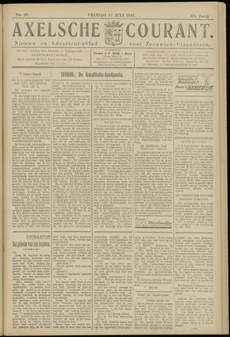 Axelsche Courant 1941-07-11
