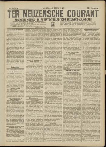Ter Neuzensche Courant. Algemeen Nieuws- en Advertentieblad voor Zeeuwsch-Vlaanderen / Neuzensche Courant ... (idem) / (Algemeen) nieuws en advertentieblad voor Zeeuwsch-Vlaanderen 1942-04-10