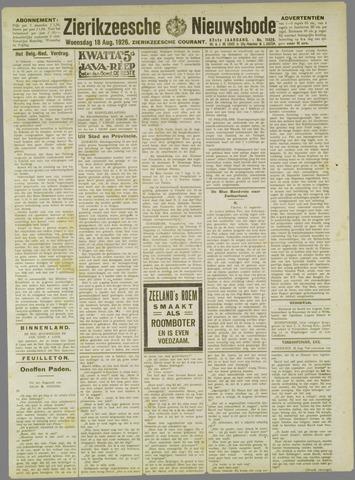 Zierikzeesche Nieuwsbode 1926-08-18