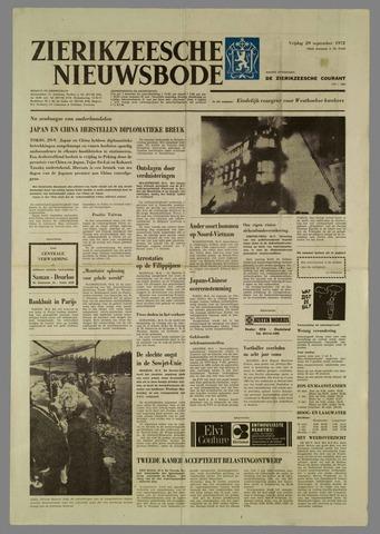 Zierikzeesche Nieuwsbode 1972-09-29