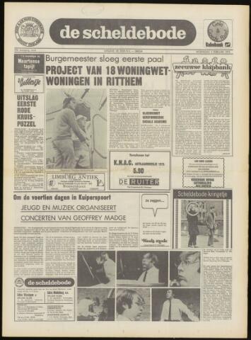 Scheldebode 1975-01-30