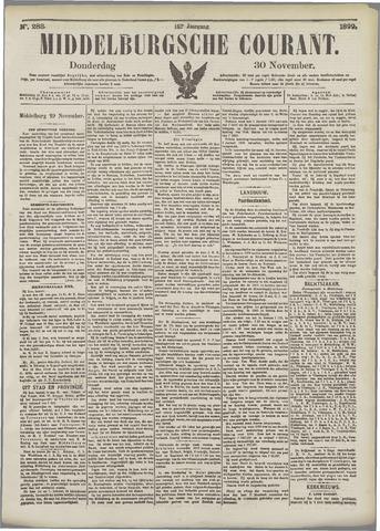 Middelburgsche Courant 1899-11-30