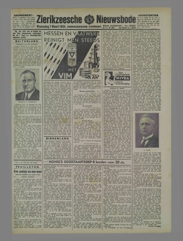 Zierikzeesche Nieuwsbode 1934-03-07