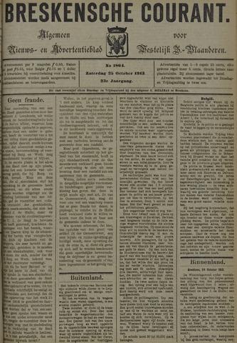Breskensche Courant 1913-10-25