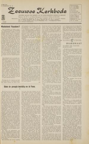Zeeuwsche kerkbode, weekblad gewijd aan de belangen der gereformeerde kerken/ Zeeuwsch kerkblad 1963-05-10
