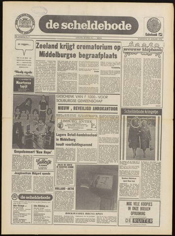 Scheldebode 1975-01-16