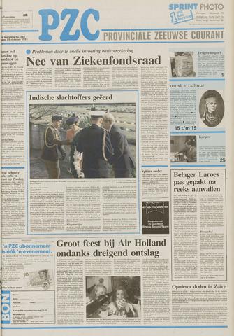 Provinciale Zeeuwse Courant 1991-10-25